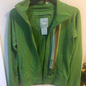 Burton green jacket